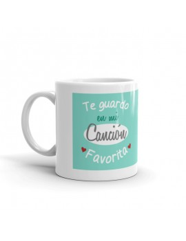 TAZA CANCION FAVORITA