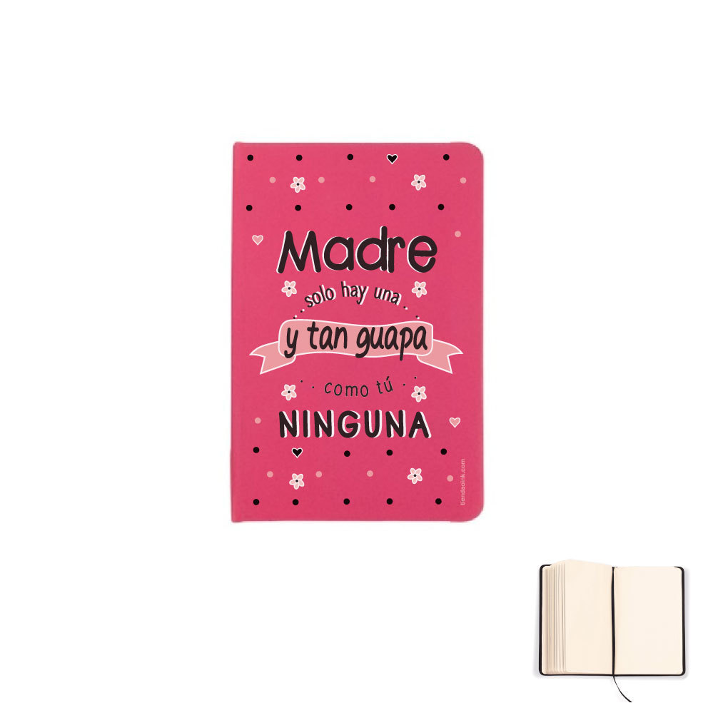 LIBRETA A6 - MADRE SOLO HAY UNA Y TAN GUAPA product_id