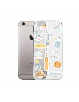 FUNDA MÓVIL - TRAVEL STICKERS AZULES product_id
