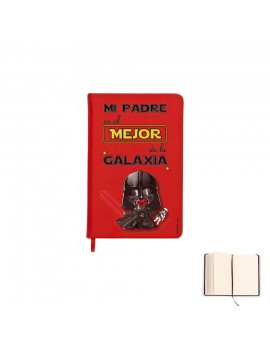 LIBRETA A6 - MI PADRE ES EL MEJOR DE LA GALAXIA product_id