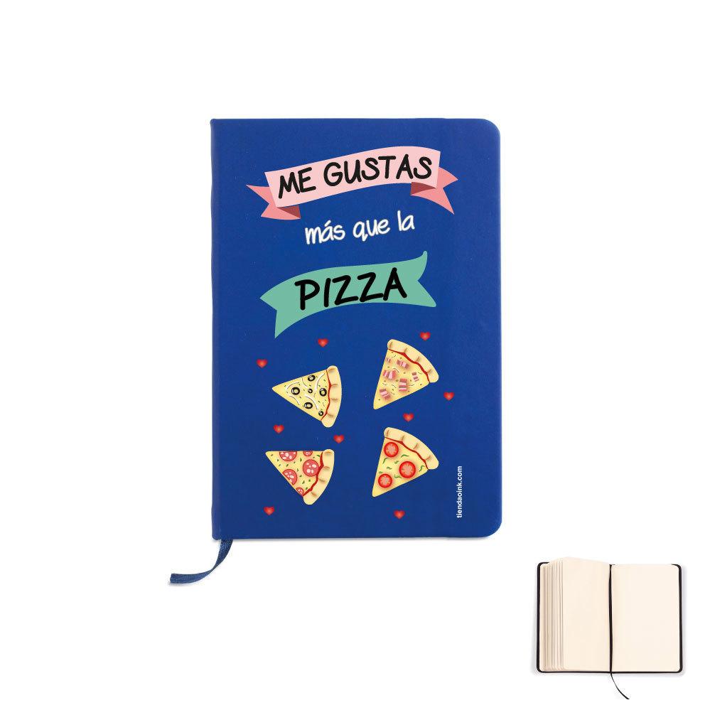 LIBRETA A5 - ME GUSTAS MÁS QUE LA PIZZA product_id