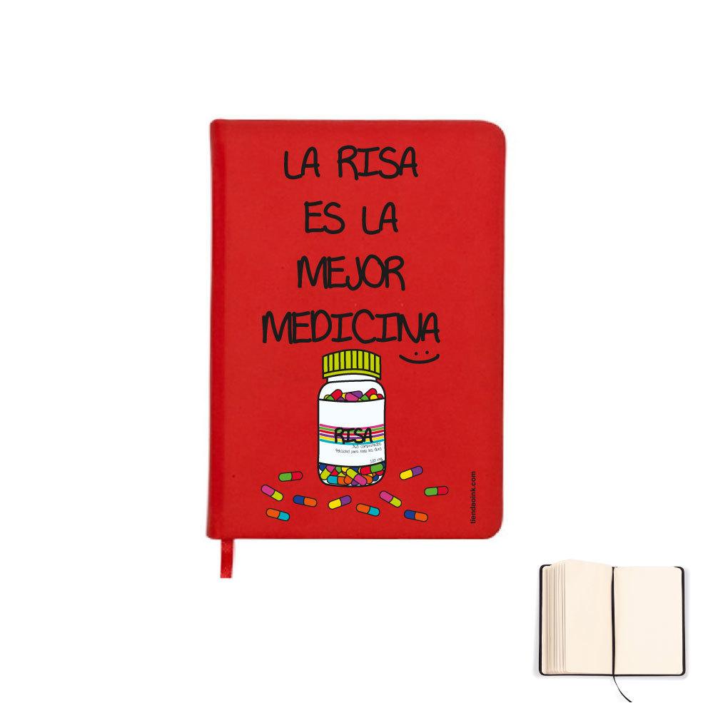LIBRETA A5 - LA RISA ES LA MEJOR MEDICINA product_id
