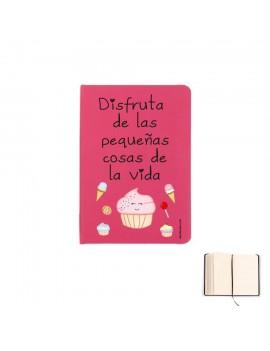 LIBRETA A5 - DISFRUTA DE LAS PEQUEÑAS COSAS DE LA VIDA product_id