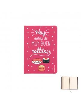 LIBRETA A5 - HOY ESTOY DE MUY BUEN ROLLITO product_id