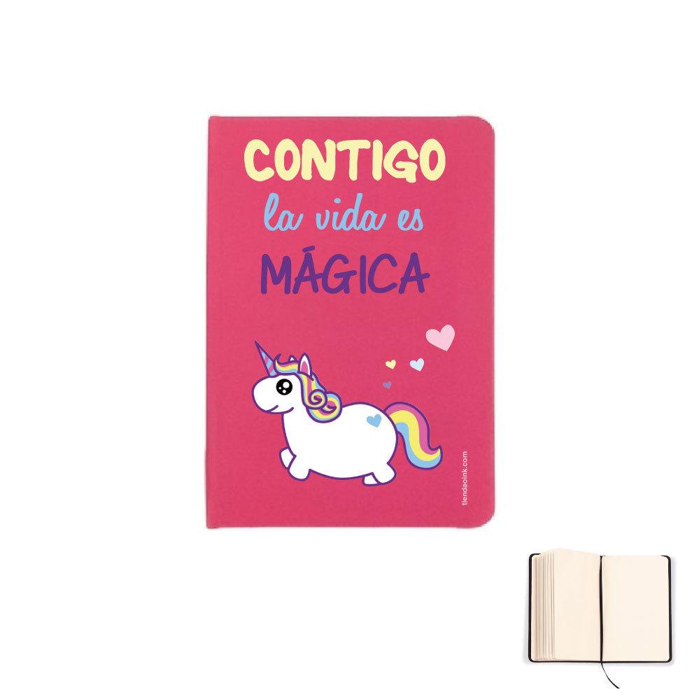 LIBRETA A5 - CONTIGO LA VIDA ES MÁGICA product_id