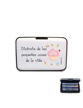 TARJETERO DISFRUTA DE LAS PEQUEÑAS COSAS DE LA VIDA product_id