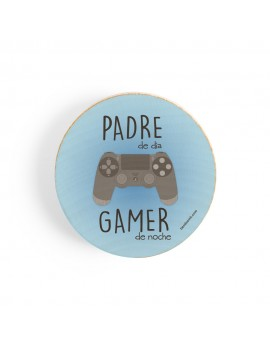 ABRIDOR MADERA CON IMÁN PADRE GAMER product_id