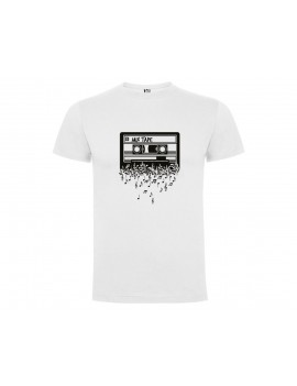CAMISETA HOMBRE CASSETTE MIX TAPE BLANCA product_id