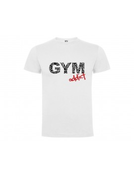 CAMISETA HOMBRE GYM ADDICT BLANCA product_id
