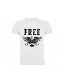 CAMISETA HOMBRE FREE BLANCA product_id