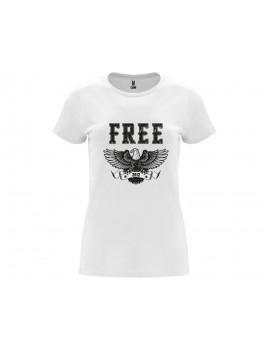 CAMISETA MUJER FREE BLANCA product_id