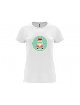 CAMISETA MUJER TIME TO EXPLORE BLANCA product_id