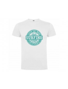 CAMISETA HOMBRE SURFING CALIFORNIA BLANCA product_id