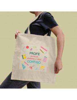 BOLSA ALGODÓN PROFE CONTAR CONTIGO product_id