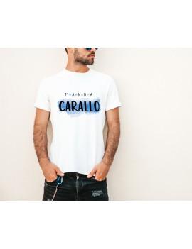 CAMISETA HOMBRE MANDA CARALLO BLANCA product_id
