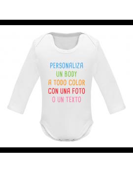 BODY BEBÉ PERSONALIZADO MANGA LARGA product_id