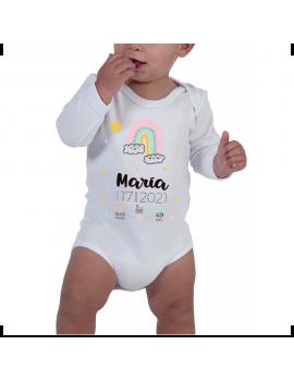 BODY BEBÉ DATOS NACIMIENTO PERSONALIZADO MANGA LARGA product_id