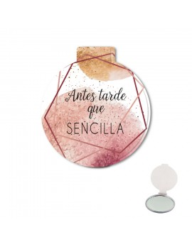ESPEJO DE BOLSO - ANTES TARDE QUE SENCILLA product_id