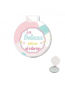 ESPEJO DE BOLSO - LA BELLEZA ESTÁ EN EL INTERIOR product_id